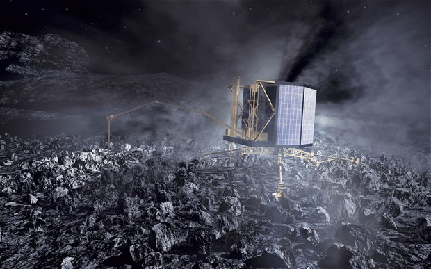 Post image for Just So You Know, We're Landing On A Comet Right Now